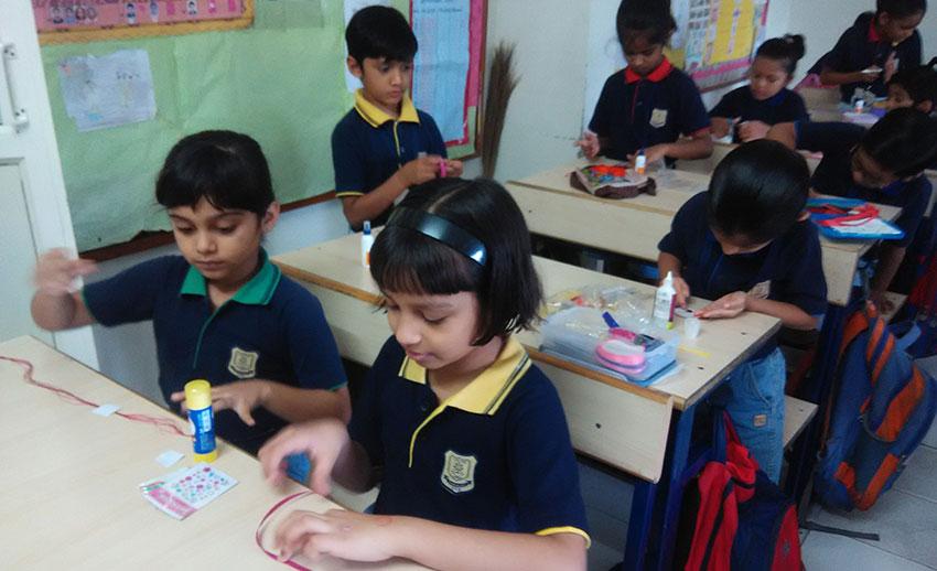 Rakhi Making Competition, 2017