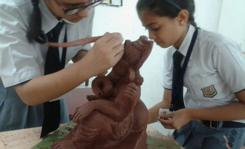 Ganesha Idol making 2017-18