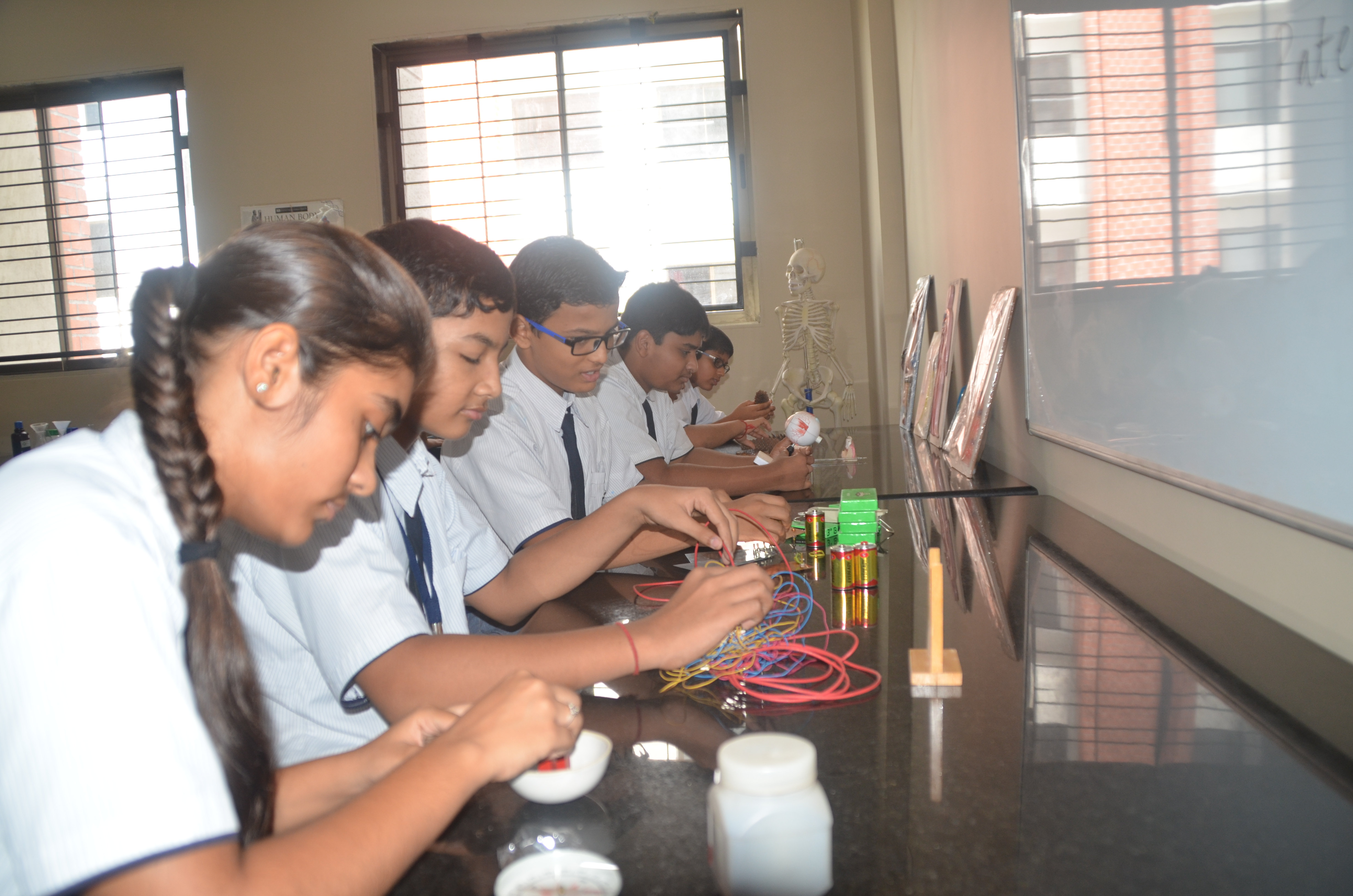 Math And Science Labs The St Kabir Indian International